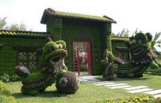 Посещение чудо-сада в Китае помогает достичь духовного прозрения